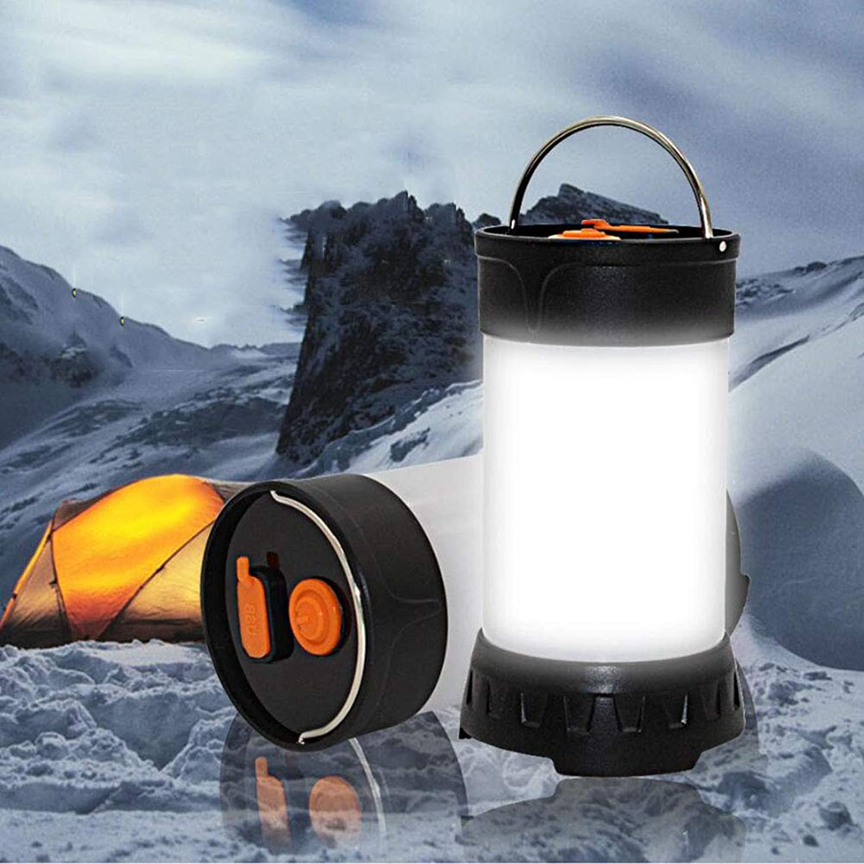 Yaxuan Outdoor Camping Light Multifunktionsgert Tent Light USB Charging Led Retro Portable Lantern Camping Light for Zelt, Wandern, Emergencies, 2 Pack