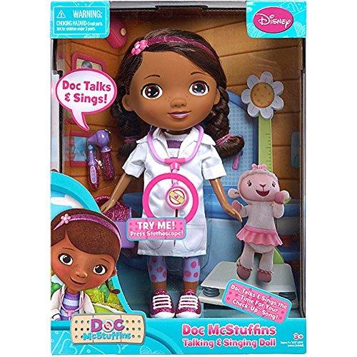 Disney Doc McStuffins Talking & Singing Doll & Accessories