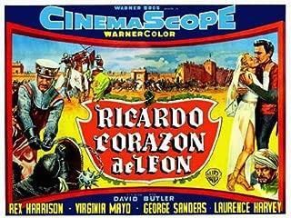 King Richard and the Crusaders Movie Poster (22 x 28 Inches - 56cm x 72cm) (1954) Argentine -(George Sanders)(Rex Harrison)(Laurence Harvey)(Virginia Mayo)(Robert Douglas)(Michael Pate)