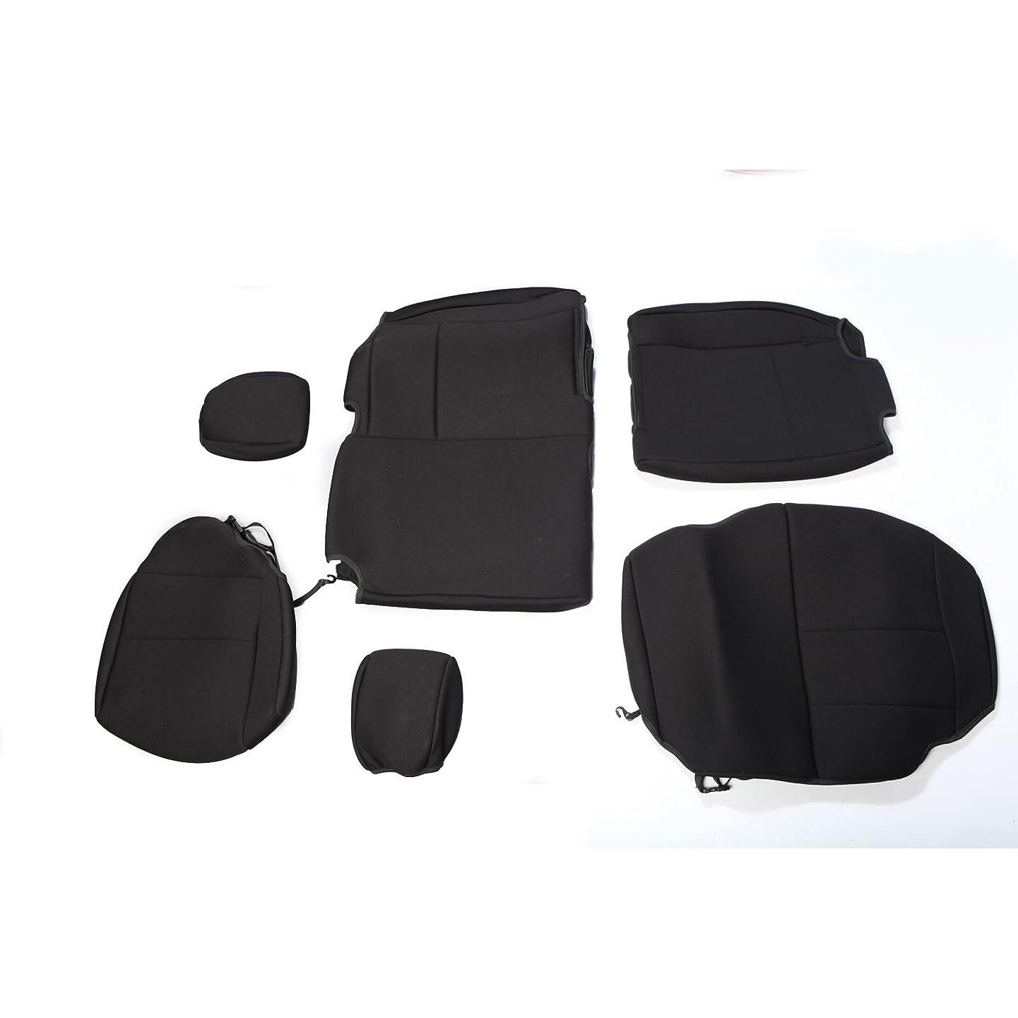 Rugged Ridge 13264.01 Black Custom Neoprene Rear Seat Cover