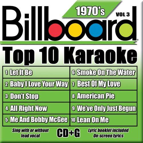 Billboard Top-10 Karaoke - 1970's Vol. 3 (10+10-song CD+G)