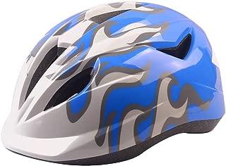 Kids Cranky Safety Helmet, Boys and Girls Safety Helmet for Roller Skating Skateboard BMX Scooter Cycling (Blue)