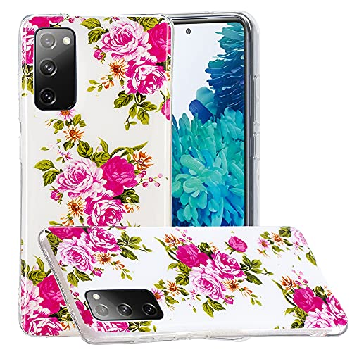 Hongjian Funda para Samsung Galaxy S20 FE 5G SM-G781B/DS Lite Glow at Night TPU Soft Case Cover 7