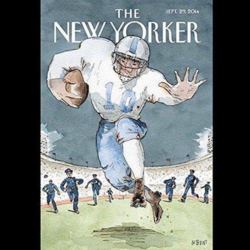 The New Yorker, September 29, 2014 (Ben McGrath, Dexter Filkins, Jeffrey Toobin) cover art
