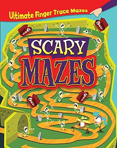 SCARY MAZES (Ultimate Finger Trace Mazes)