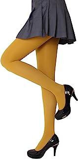 CozyWow Damen Strumpfhose Elastisch Semi Stützstrumpfhose in 13 Farben 80 DEN