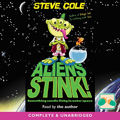 Aliens Stink! audiobook cover art