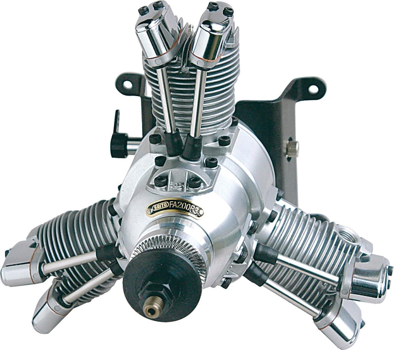 FA-200R3 3-Cylinder Radial Glow Engine  BA (japan import) B0045ASKYO Hochwertige Materialien  | Ruf zuerst