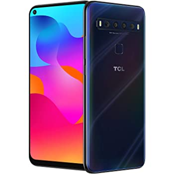 "TCL 10L, Unlocked Android Smartphone with 6.53"" FHD + LCD Display, 48MP Quad Rear Camera System, 64GB+6GB RAM, 4000mAh Battery"