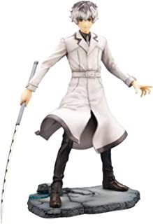 LF-YGJ Estatua de Anime Anime KOTOBUKIYA Tokyo Ghoul Re Haise Sasaki Figura de acción Estatua Kaneki Head Se Puede Cambiar...