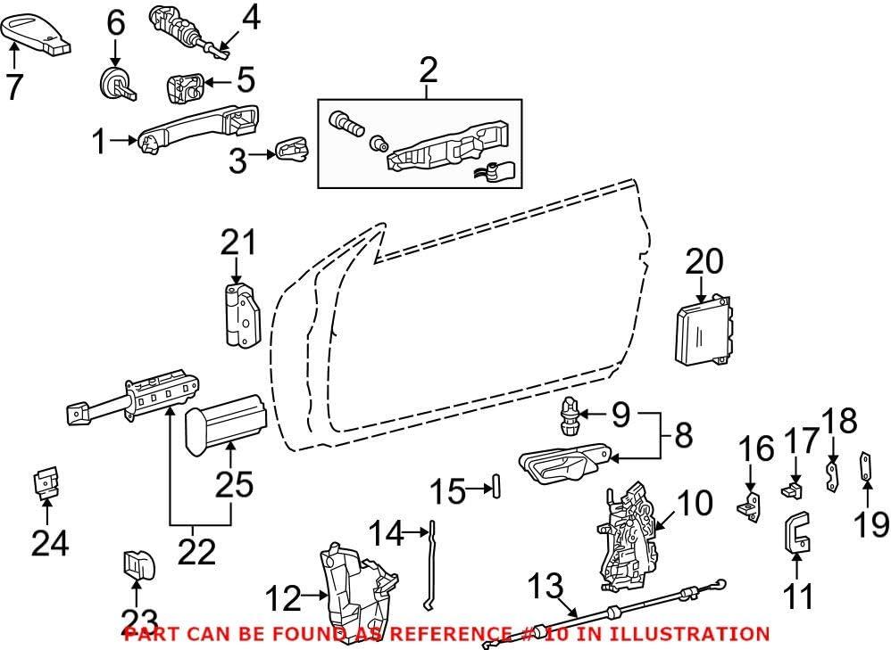 Max 75% OFF Genuine 40% OFF Cheap Sale OEM Door Lock Actuator Mercedes 2087200135 for Motor