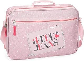 Cartera Escolar Pepe Jeans Olaia rosa