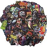 Pegatinas AXHZL Marvel Super Hero Avengers para monopatín, nevera, guitarra, motocicleta, equipaje, PVC impermeable, 108 unidades