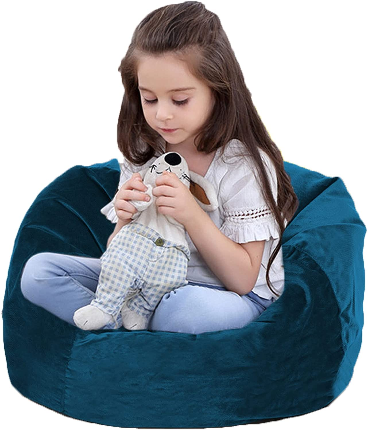 Children Bean Bag Chair Snuggle Credence Foam Case Nest Be Filled Limited time cheap sale Bird's