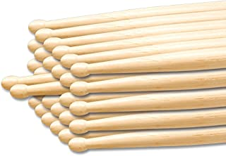 Percussion Plus PP103 - Baquetas de arce (12 pares, 7 A)