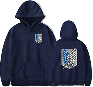 Attack on Titan Pullover Hoodie Anime Theme Long Sleeve Mikasa Allen Investigation Legion Hooded Jacket