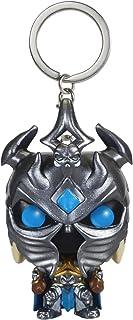 Funko POP World of Warcraft WOW Arthas Model Keychain