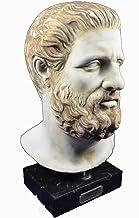Estia Creations Hippocrates Sculpture Ancient Greek Father of Modern Medicine Head Bust Artifact