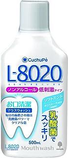 紀陽除虫菊 マウスウォッシュ クチュッペ L-8020 ソフトミント (ノンアルコール) 500ml