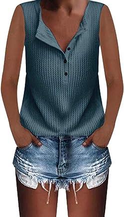 ce7efabd2c3e Comfortable Sweet Simple Sport Vest Tank Top Yoga Women Waffle Knit Tunic T- Shirt Sleeveless