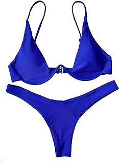 BESTYLING Women's Sexy Triangle Two Pieces Bikini Swimsuit