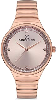 Daniel Klein Premium Ladies - Rose Gold Dial Rose Gold Band Watch - DK.1.12522-4