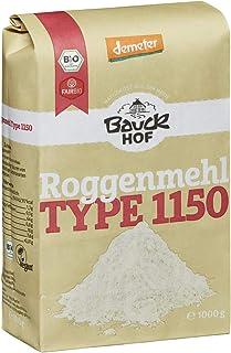 Bauckhof Bio Bauck Lichtkorn Roggenmehl Type 1150 2 x 1000 gr