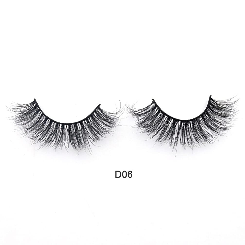 ウィスキーかける三十(D06) Visofree Eyelashes 3D Mink Lashes Luxury Hand Made Mink Eyelashes Medium Volume Cruelty Free Mink False Eyelashes Upper Lashes