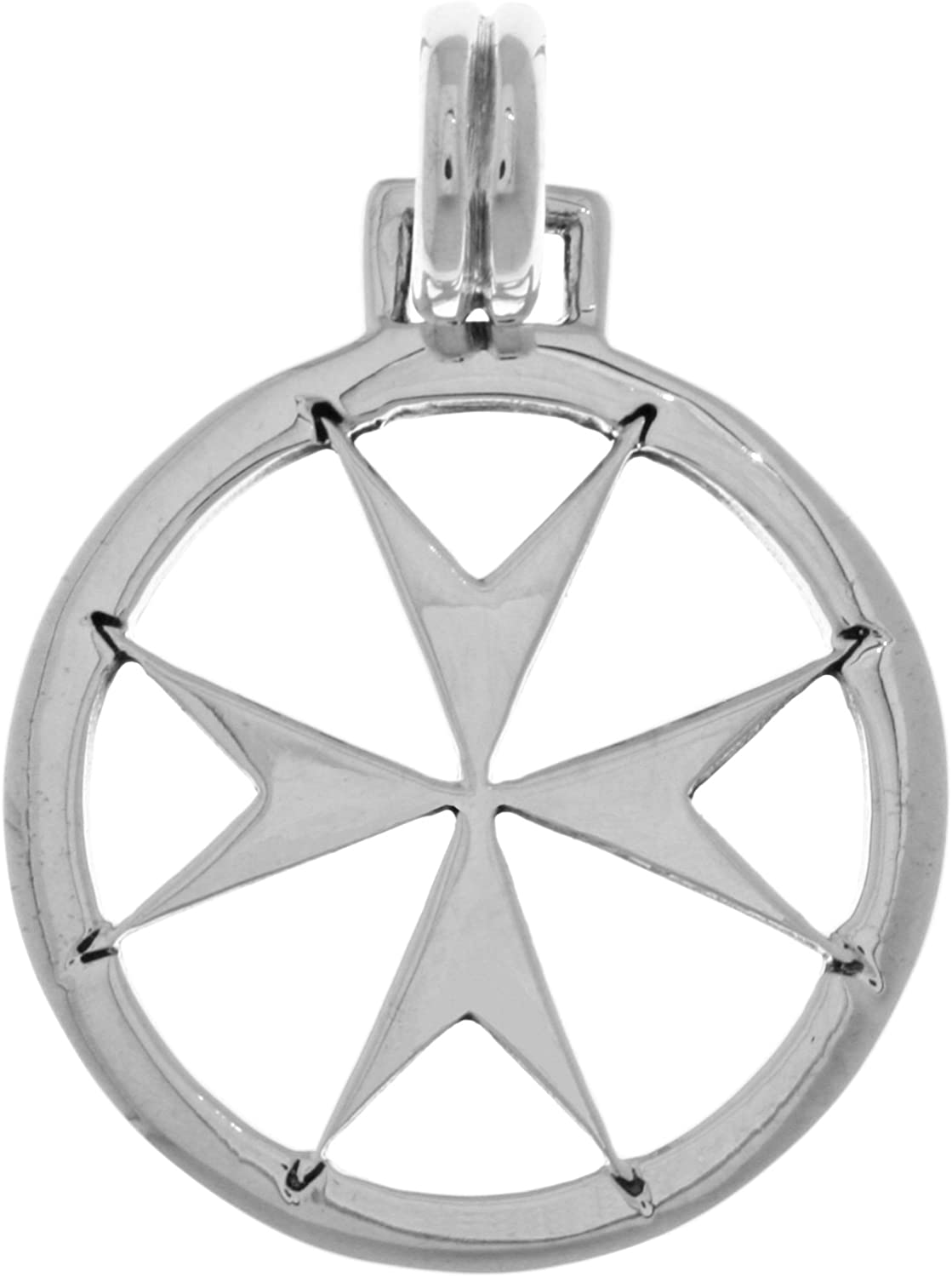 Jewelry New popularity Trends Maltese Templar Silver New Shipping Free Shipping Pendant Cross Sterling