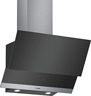 Bosch Serie | 4, 60 cm wall-mounted cooker hood, Stainless Steel - DWK065G60M, 1 Year Warranty
