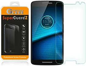 [2-Pack] for Motorola Droid Maxx 2 (2015 Release, for Verizon) - SuperGuardZ Tempered Glass Screen Protector, 9H, 0.3mm, 2.5D Round Edge, Anti-Scratch, Anti-Bubble