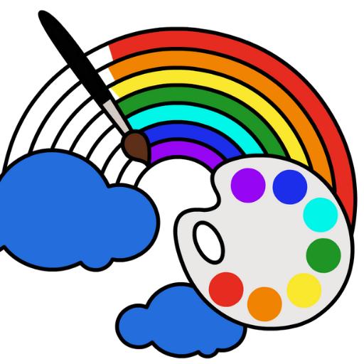 Juegos de Colorear para Niños: Bebé Libro de Dibujo y Pintar para Niños, Colorea por Números - Colores Dibujar y pintar