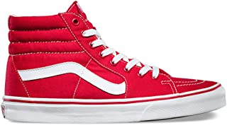 SK8-HI (Canvas) Formula One Red/White Sneakers Men 4.0 , Women 5.5 VN-0TS9GYK