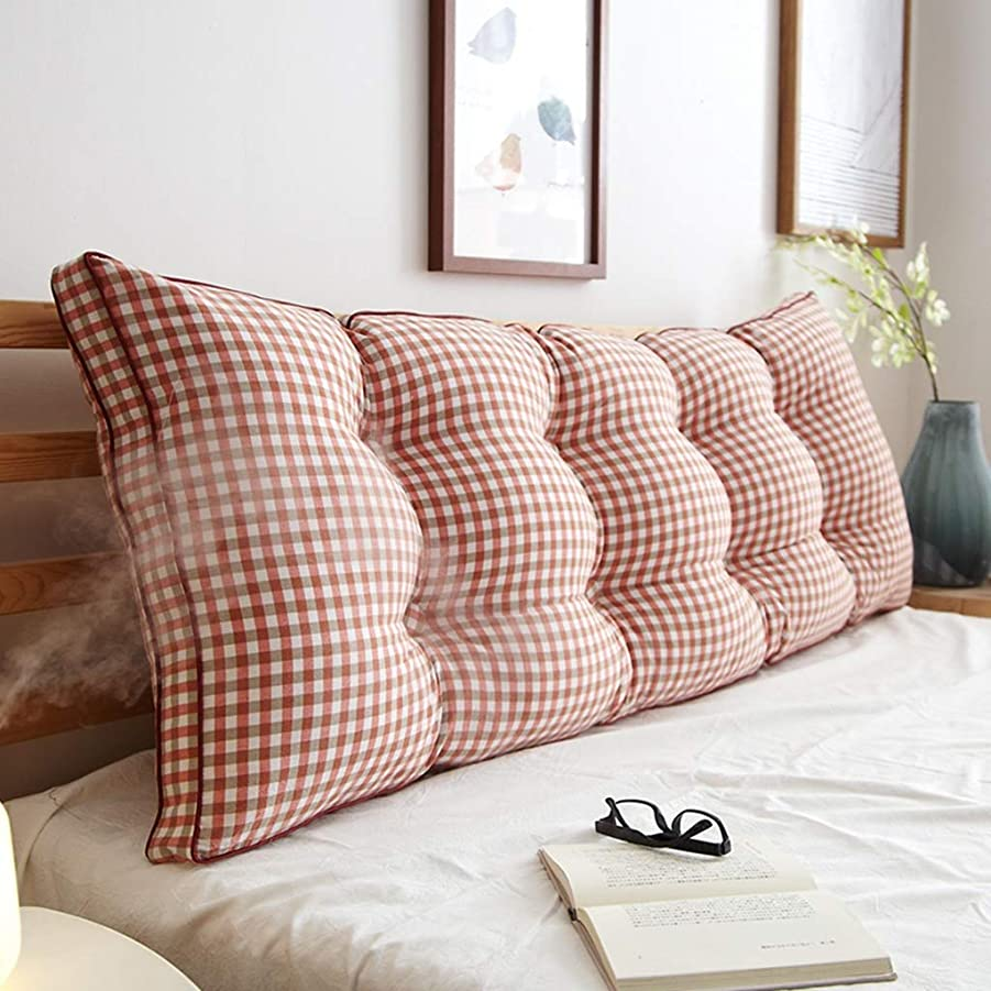 あまりにもはねかけるメタリック寝室枕、ダブルロング枕ウエスト保護枕ベッドサイド大型背もたれオフィスホテル家庭用クラブ枕、長さ120-200センチ (Color : V, Size : 200*20*50CM)