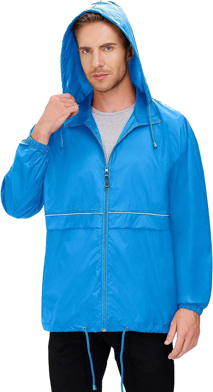 Men's Rain Tucson Mall Popular overseas Jacket Cycling Running Women's Rai Jackets Waterproof
