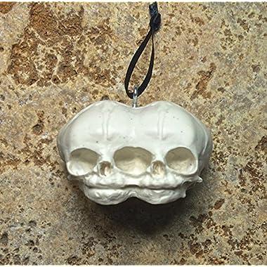 Conjoined Twins Fetal Skull Ornament