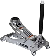 Arcan 3-Ton Quick Rise Aluminum Floor Jack with Dual Pump Pistons & Reinforced..