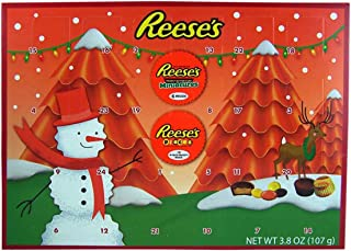 2018 Reese's Holiday Countdown Christmas Advent Calendar with