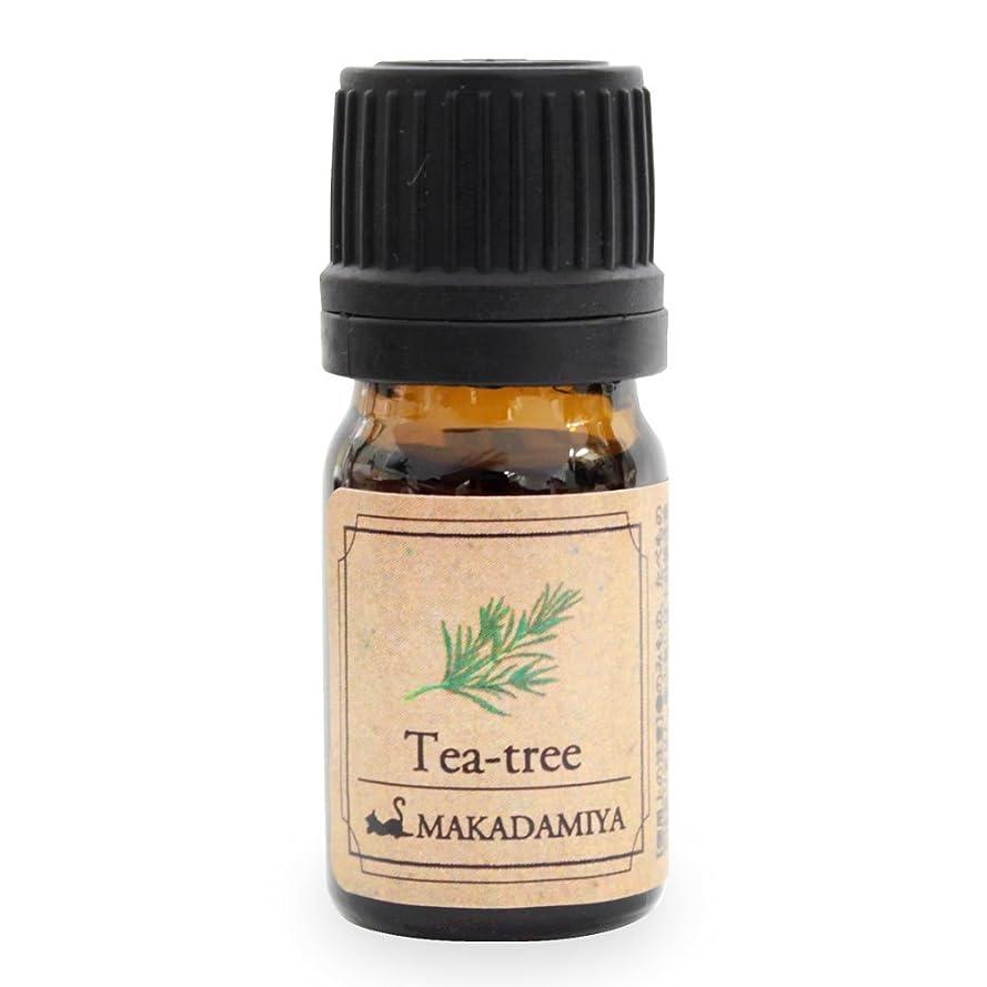 アウトドア資産したいティーツリー5ml 天然100%植物性 エッセンシャルオイル(精油) アロマオイル アロママッサージ aroma Tea-tree