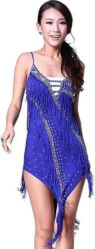 DCL Bracelet clouté de Costume Danse Latine bordées de Robe de Danse Latine