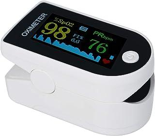 Moobody Pulsossimetro Mini Saturimetro da Polso Pulsossimetro Frequenza del Polso Saturazione di Ossigeno nel Sangue Monit...
