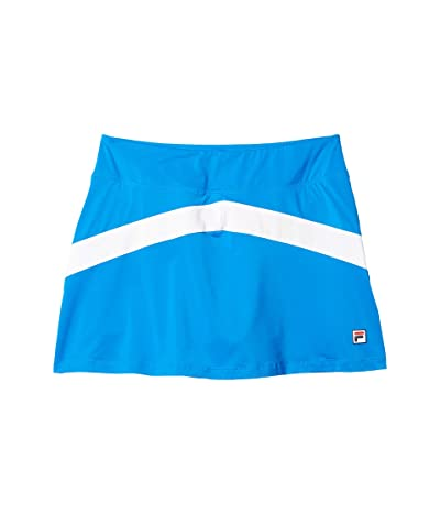Fila Heritage Tennis Color-Blocked Skort (Electric Blue/White/Navy) Women