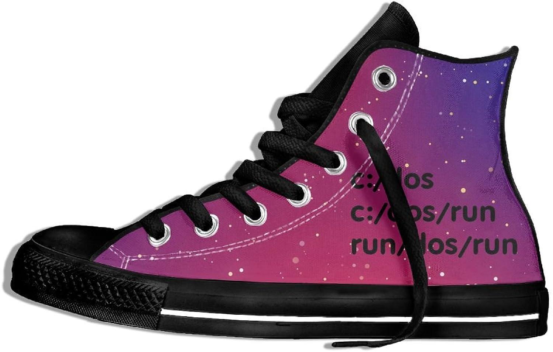RUN DOS RUN High Top Classic Casual Canvas Fashion shoes Sneakers For Women & Men