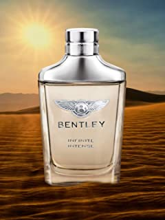 Bentley Eau de Parfum Spray for Men, Infinite Intense, 100ml