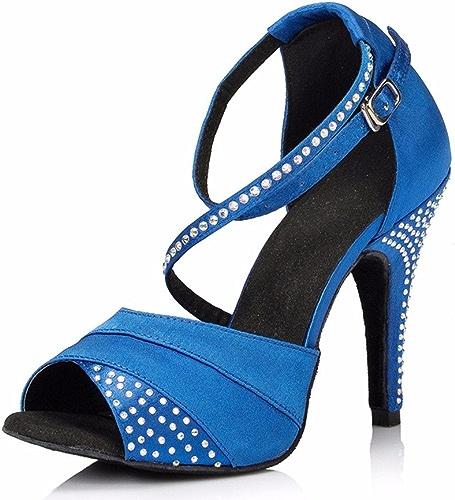 Masocking@ Femme Chaussures de Danse Sandales Chaussures à haut talon la danse moderne.