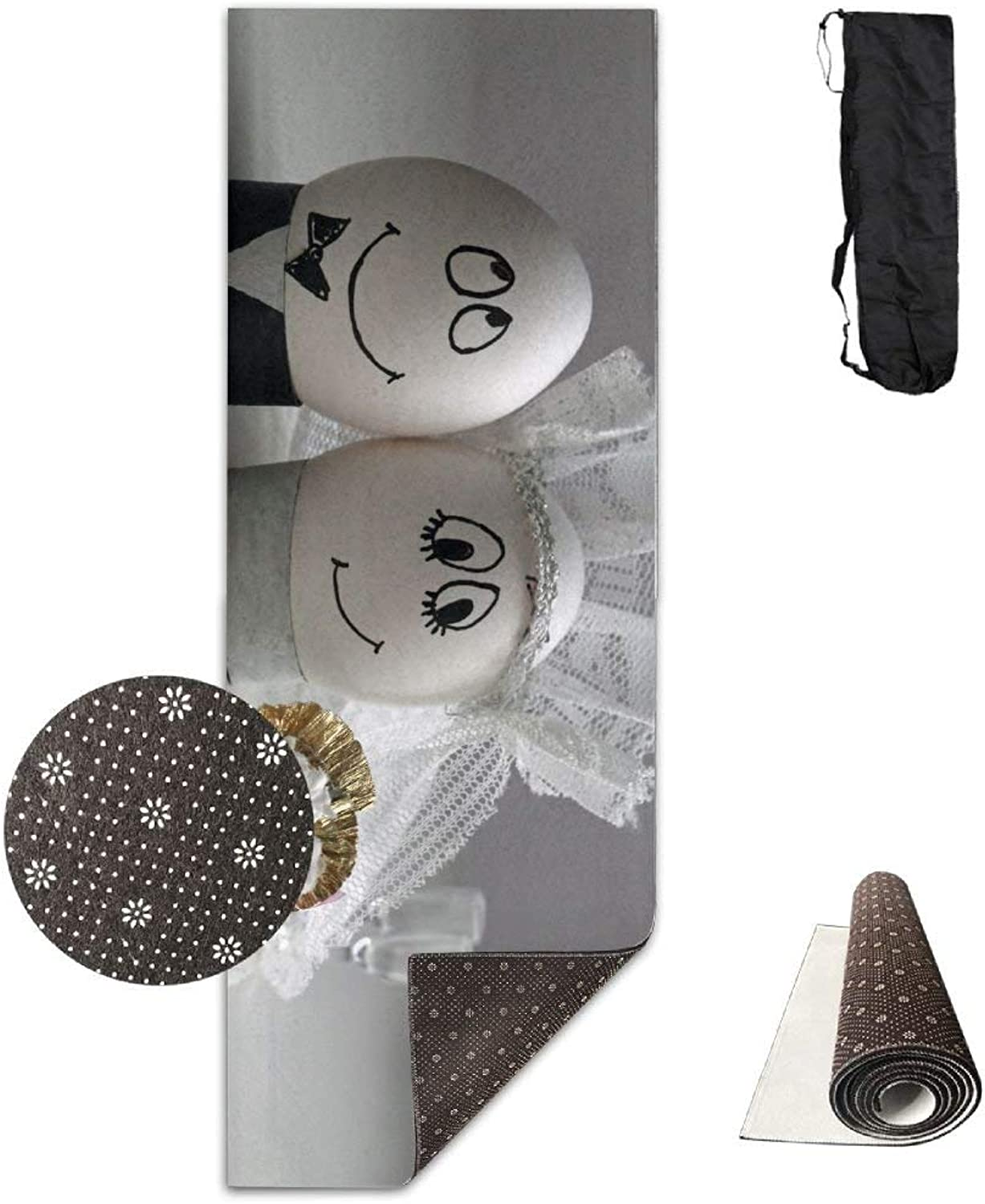 Eggs Wedding Easter Decoration Couple ECO Aqua Power Kinematic Iyengar Kundini Hot Pilates Gymnastics Hatha Yoga Mat and Other Mats That Need to Be Performed On The Ground