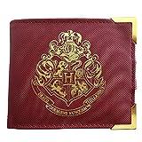 Harry Potter Cartera prémium con Escudo de Hogwarts, Multicolor, 2 Unidades