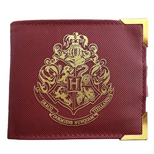 Harry Potter Premium Geldbeutel Hogwarts Wappen, Mehrfarbig, 2