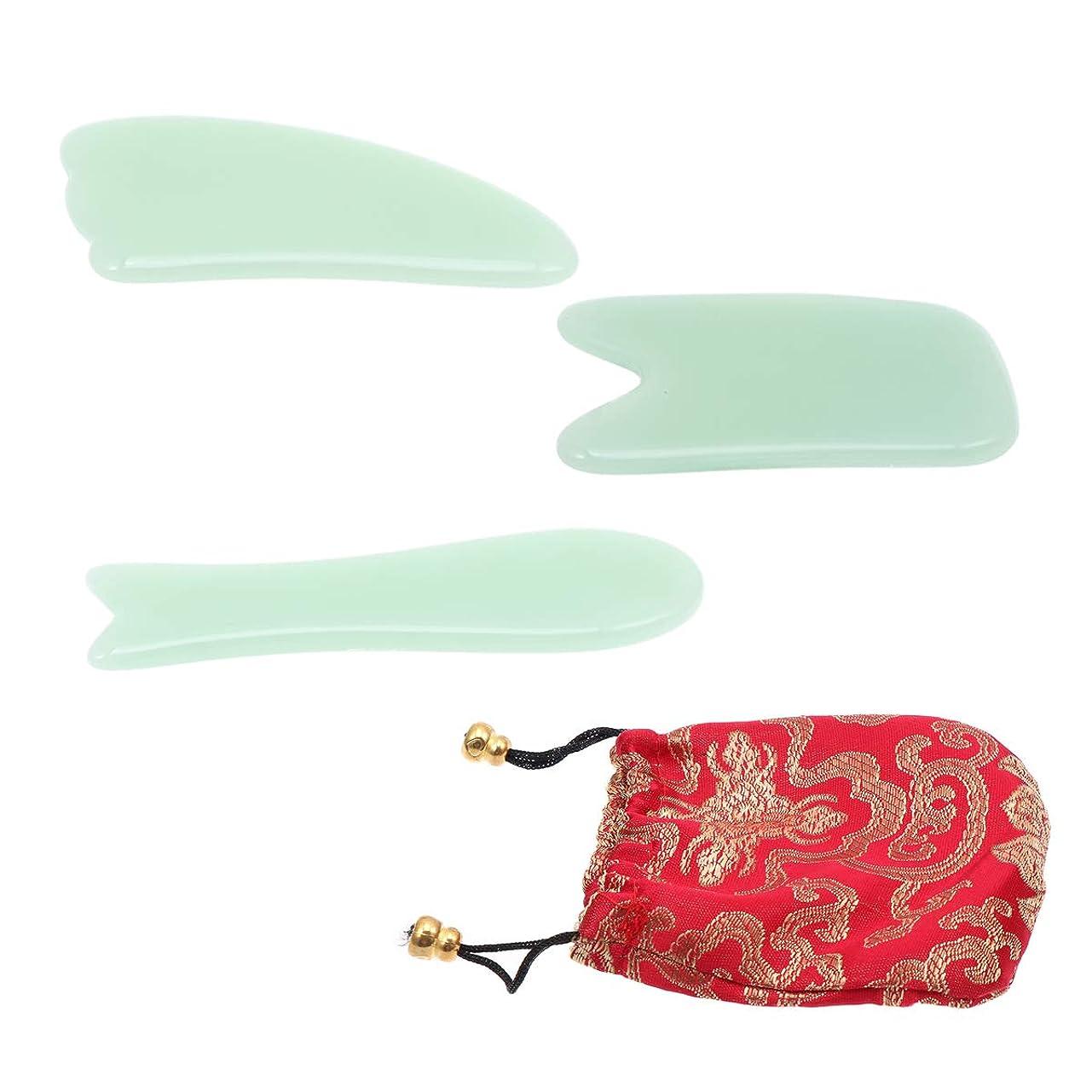 告白スツール適度にHealifty 巾着袋3本入りジェイドマッサージボード