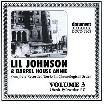 Lil Johnson & Barrelhouse Annie Vol. 3 1937
